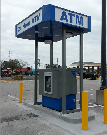 We ship and install anywhere! & ATM-Canopies